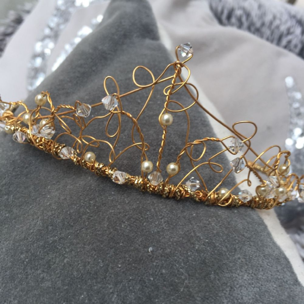 Handmade wedding tiara